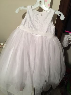 Flower girl dress (David's bridal) for Sale in Houston, TX