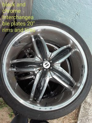 """20"""" rims and tires for Sale in Tampa, FL"""