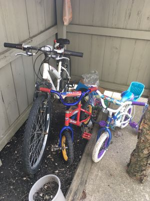 Three bikes for sale for Sale in Upper Arlington, OH