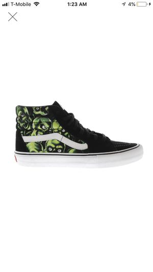 Supreme Vans Sk8-Hi Supreme Skull Pile for Sale in Schaumburg, IL