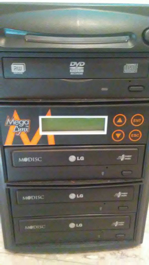 Multi disc burner burn DVDs CDs computer program
