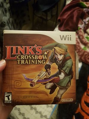 Link Criss bow Training Wii for Sale in Ontario, CA