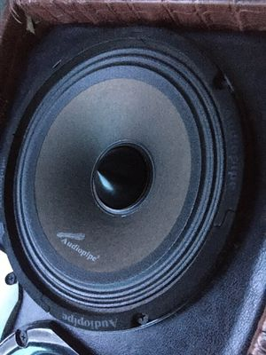 "8"" Audio pipe speakers for Sale in Lawrence, MA"