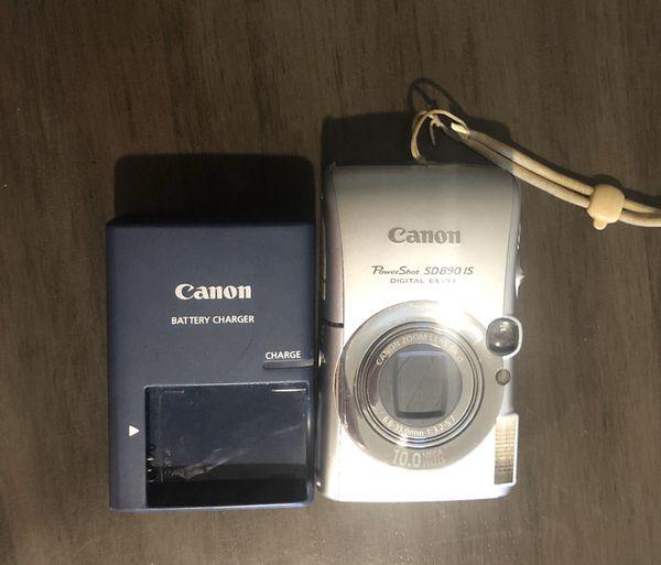Selling a PowerShot SD890 camera.