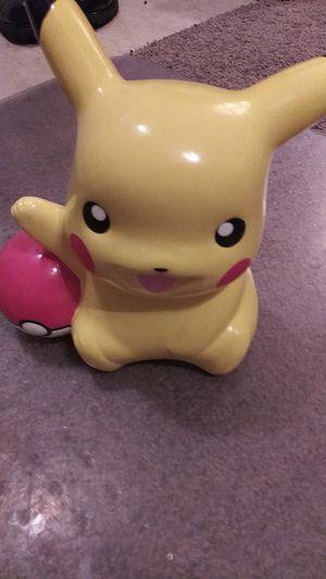 Pokemon Pikachu piggy bank for Sale in Menifee, CA
