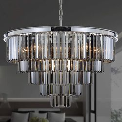 Brand new crystal chandelier/luxury chandelier/home decor/Light fixtures /home goods for Sale in Tamarac,  FL
