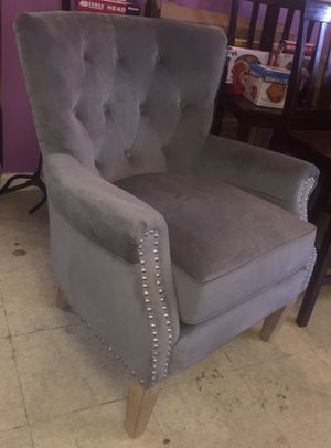 New Gray Nailhead Chair for Sale in Greenville, MS
