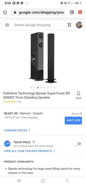 Definitive Technology Pro Audio Speakers for Sale in Phoenix, AZ