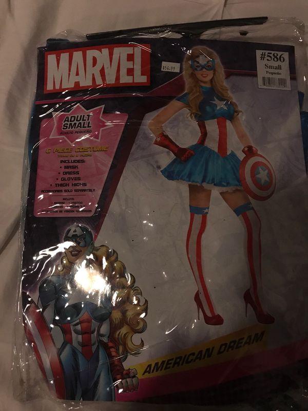 Captain Marvel Halloween Costume Small