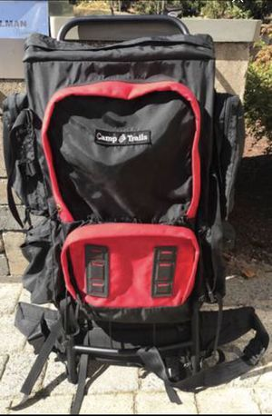 Camps Trails Large External Frame Hiking Backpack for Sale in Blackstone, MA