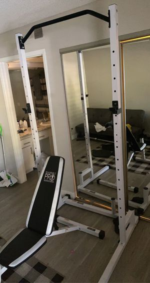 Weight bench/ squat rack etc. for Sale in Las Vegas, NV