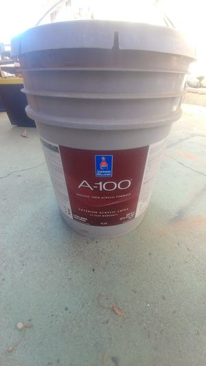 5 gallon Sherwin Williams A-100 for Sale in Turlock, CA