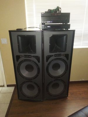 Pro Studio Tower speakers for Sale in Phoenix, AZ