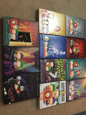 South Park DVD Collection - Seasons 1-9, 11, 12 for Sale in Springfield, VA