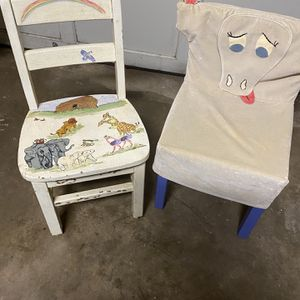 2 Kids Chairs for Sale in Ashburn, VA