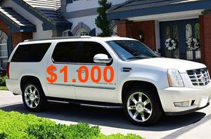 $1,000 🍁Good running vehicle 2008 Cadillac Escalade ❗Urgent❗🍁❤️ for Sale in New Haven, CT
