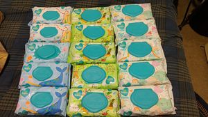 Pampers wipes bundle - all 15 packs included for Sale in Mesa, AZ