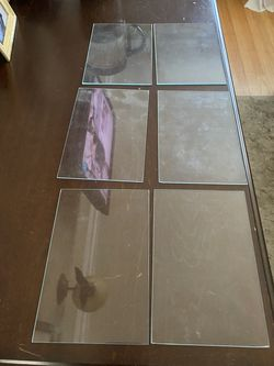 FREE - six (6) 4x6 glass for picture frames for Sale in San Leandro,  CA