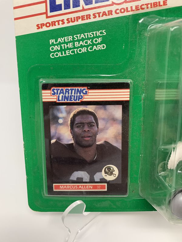 Vintage Oakland/LA Raiders/NFL Legend Marcus Allen STARTING LINEUP ACTION FIGURES (1) [Brand New]