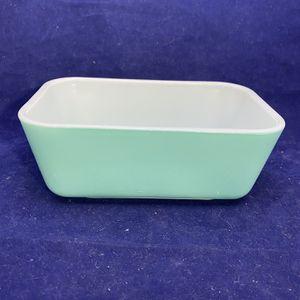 Vintage Pyrex #0502 Refrigerator Dish In Aquamarine Turquoise Blue for Sale in Trenton, NJ