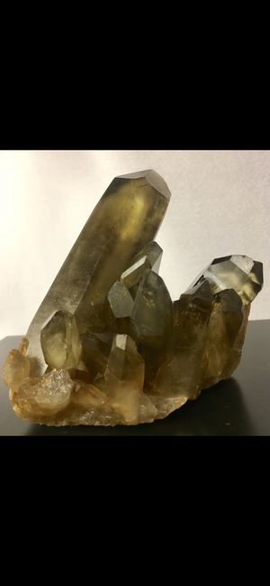 Extraordinary Smokey and Citrine Quartz Cluster from Tibet for Sale in Schertz, TX