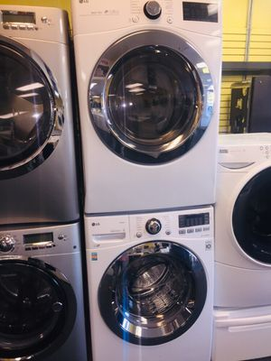 LG washer and new electric dryer set for Sale in Woodstock, MD