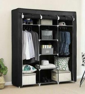 NEW Portable Space Saver Storage Organizer Wardrobe Closet Small Apartment Studio Dorm Room for Sale in Chandler, AZ