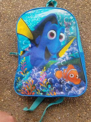 Finding Nemo backpack for kids [CLEAN.MINT COND] for Sale in Rockville, MD
