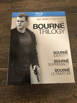The Bourne Trilogy Box Set + The Bourne Legacy Blu-Ray DVDs for Sale in Mesa, AZ