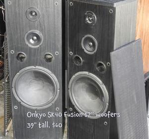 Big Bad Onkyo LOUD speakers by Speakerholic in Poinciana for Sale in Kissimmee, FL