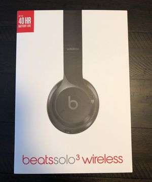 Beats Solo3 Wireless Headphones for Sale in University Place, WA