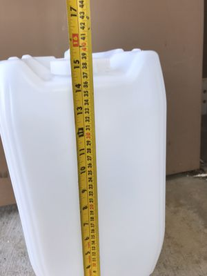 Plastic barrels jugs containers 5gl for Sale in La Mesa, CA