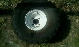 22inch tire and rim for Sale in Traverse City, MI