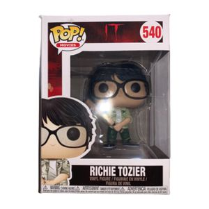 Rare Richie Tozier Funko Pop Collectible Toy Action Figure (from Stephen King's IT Movie / Book) Excellent Condition, Perfect for Horror Lovers & Hal for Sale in Canton, MI