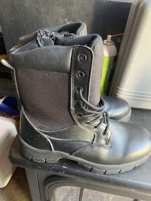 Texas steer work boots 8 1/2 for Sale in Union City, CA