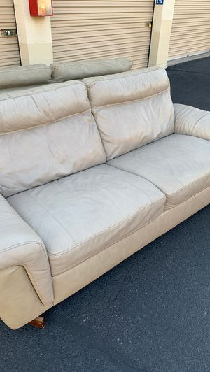 2 leather sofas for Sale in Scottsdale, AZ
