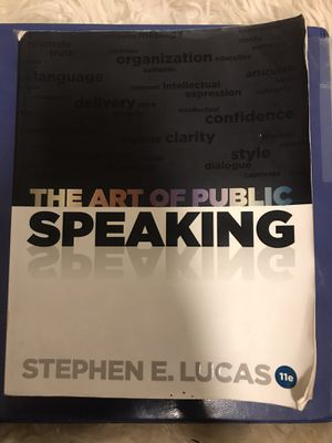 The Art of Public Speaking for Sale in Azusa, CA