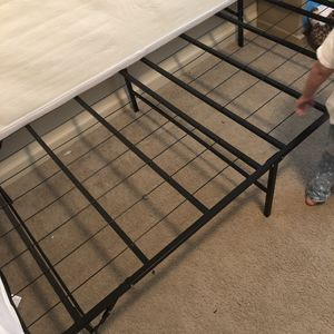 Twin bed frame FOLDABLE for Sale in Boalsburg, PA