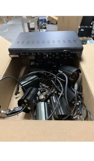 KGuard 8CH Video Recorder with 8 Cameras for Sale in Frederick, MD