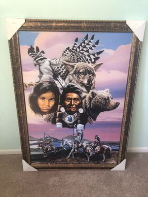 Framed Painting of Natives for Sale in Pasadena, CA