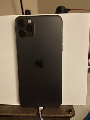 iPhone 11 Pro Max-64 gb-Space Gray-AT&T for Sale in Abilene, TX