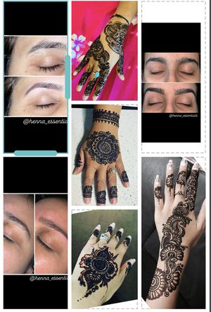 Henna tattoos and eyebrows threading ....!!!! for Sale in Houston, TX