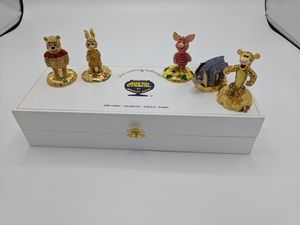 Disney collectibles Arribas collection Pooh and Friends swarovski Crystal for Sale in Seattle, WA