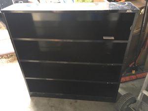 Black 4' x 4' bookshelf $30 for Sale in Mulberry, FL