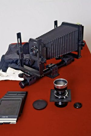 Toyo 45CX Large Format, 4x5 Film Camera With Two Lenses: 150mm & 270mm for Sale in Brooklyn, NY