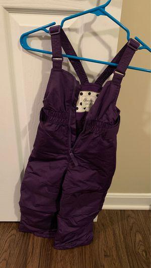Girls purple Cherokee 3T winter overalls for Sale in Lebanon, OH