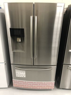 Fridge French Door Stainless Steel BRAND NEW 😎 1 Year Warranty for Sale in Tempe, AZ