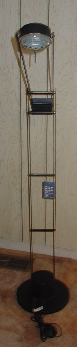Tensor High Intensity Floor Lamp Light with Floor Switch for Sale in Warren, MI