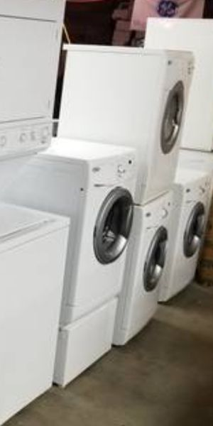 🌺 like new used *stove refrigerator washer dryer stackable diswadher**address 21639 pacific hwy S Des moines wa **90 days warranty available delivery for Sale in Seattle, WA