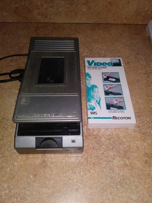 VHS Video Tape Automatic Rewinder and Head Cleaner!⭐MAKE AN OFFER⭐ for Sale in Miami, FL